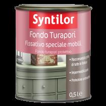 Fondo Turapori Fissativo Speciale Mobili 0,5L