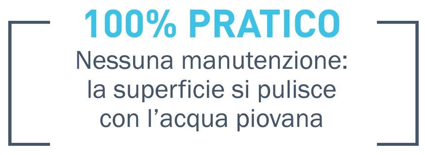 100% Pratico - Self Clean®