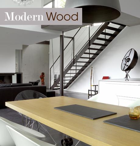 stile modern wood lookbook